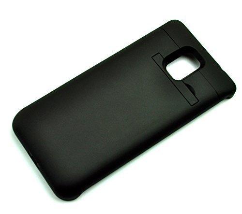mondpalast@ Negra USB Externos 5200 mah Batería Funda Cargador Para Samsung Galaxy Note 4 , note 4 para cargar segundo teléfono móvil