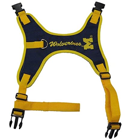 Pets First NCAA University of Michigan Wolverines Dog Harness