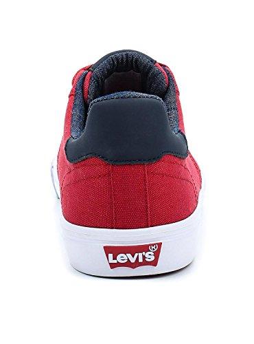 1919 227833 87 Unbekannt Skinner Levis Herren Sneaker Rot 4xwppXq7