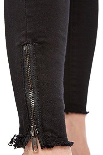 KT675-6 Damen Jeans Hose Hüfthose Damenjeans Hüftjeans Röhrenjeans Röhrenhose Röhre