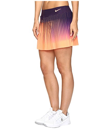 Nike Court Flex Victory Skirt Purple Dynasty/Bright Mango Women's Skirt