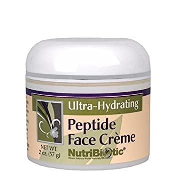 Nutribiotic - Anti-Aging Peptide Face Creme - 2 oz. 4 Pack Clearasil Daily Clear Hydra-Blast Oil Free Face Scrub 5 Oz Each