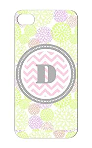 Davis The Letter D Chevron Dunn Monogram Pink Dana Symbols Shapes Initial Dustproof Silver Protective Hard Case For Iphone 5