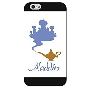 DIY Black Frosted Disney Cartoon Movie Aladdin Jasmine For Iphone 6 Phone Case Cover Only fit For Iphone 6 Phone Case Cover +