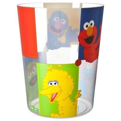"UPC 032281022877, Sesame street ""Patchwork"" Acrylic Wastebasket"