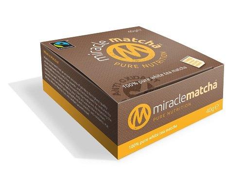 Miracle White Matcha Tea Tin, 1.41 Ounce by Miracle Matcha
