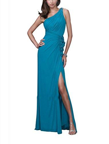 Grün einer Perlen GEORGE mit Applikationen Vorder BRIDE Kleid Schein Spalte Mantel Schulter Abend qxx7RAta