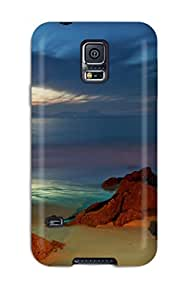 New Style Durable Beach Back Case/cover For Galaxy S5