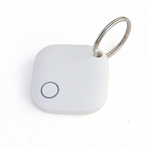 YOUDUO Key Finder GPS Tracker Item Locator for iOS/Android Waterproof IP67-1-Pack(White)