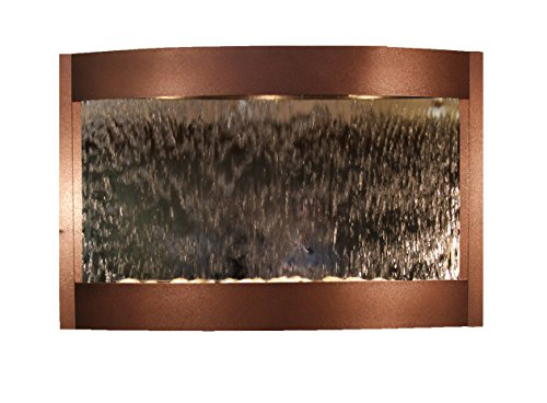 Calming Waters Water Feature with Silver Mirror (Copper Vein) by Adagio Water Features