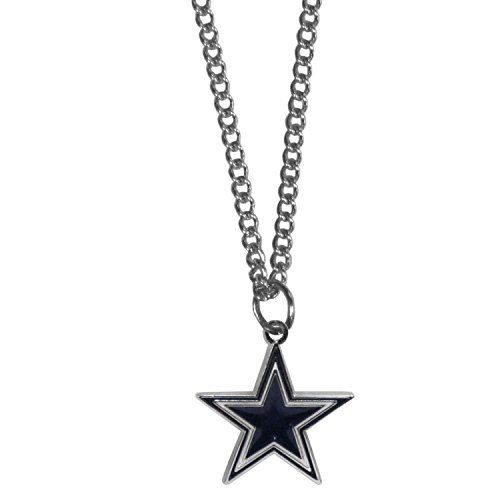 Siskiyou NFL Dallas Cowboys Chain Necklace with Small Pendant, 20
