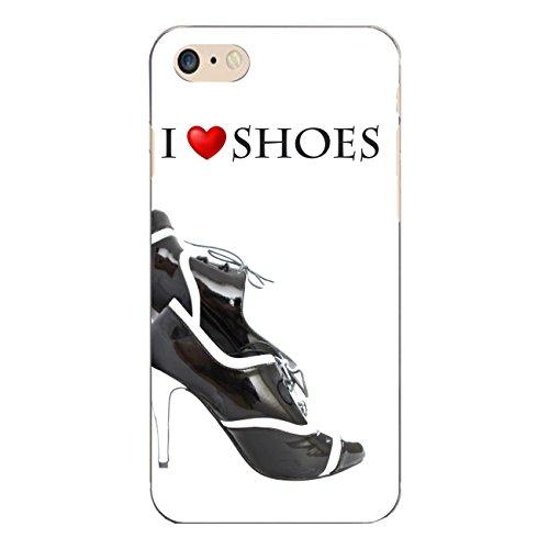 Disagu Design Case Coque pour Apple iPhone 7 Housse etui coque pochette &quot;I <3 shoes&quot;