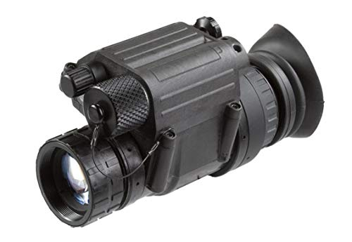 "PRG Defense 11P14122453031 Model PVS-14 NL3 Night Vision Monocular Gen 2+ ""Level 3"" with Manual Gain, 1x Magnification, 26mm Lens, 40° FOV, 0.25m to Infinity Focus Range, Waterproof"