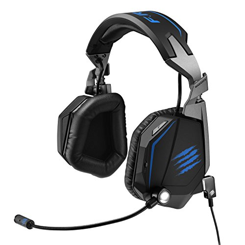 Mad Catz F.R.E.Q.TE Tournament Edition 7.1 Surround Sound Gaming Headset (MCB434120B02/02/1) - Mad Catz Playstation