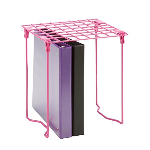 Honey-Can-Do BTS-06608 Freestanding Folding steel Locker Shelf