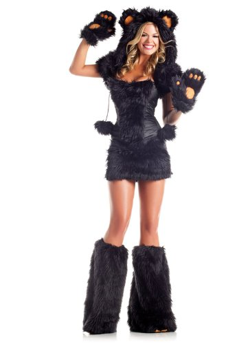 Be Wicked Costumes Women's Ar Costume, Black, Small/Medium