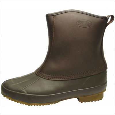 Superior Boot Co. Men's Pull-on Duck Waterproof Boots,Brown,