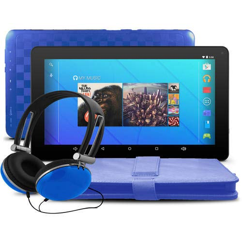 "Ematic EGQ235SKBU 7"" Tablet 16GB Blue"