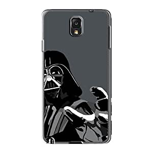 Scratch Protection Hard Cell-phone Case For Samsung Galaxy Note 3 (QpX9226xHoo) Allow Personal Design High-definition Darth Vader Vector Image
