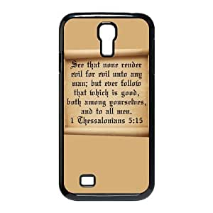Bible Design High Quality Hard Plastic Case Cover For Samsung Galaxy S4 I9500