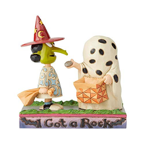 Enesco Peanuts by Jim Shore Charlie Brown and Lucy Halloween]()