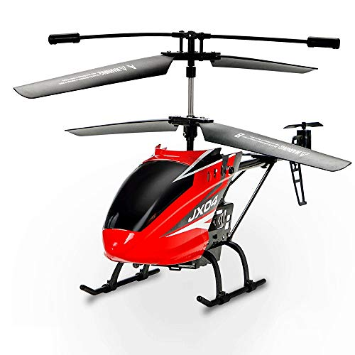 Slreeo 2.4GHz Remote Control Helicopter, Intelligent Air Pressure Fixed Height with 720P Aerial Camera, Alloy Body…