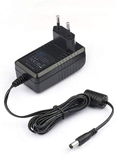 KFD Cargador Universal 12V 2A Adaptador para Netgear, Western Digital, BMAX B1 Mini PC, Reproductor Multimedia, Discos Duros Externos, Fax TFT & LCD Monitor, Impresora, Escáner, Router, Transforma