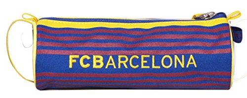 Offiziell lizensiertes ORIGINAL FC FCB Barcelona 20cm runden Federmäppchen / Schlampermäppchen