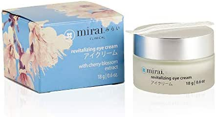 Revitalizing Eye Cream with Cherry Blossom Extract from Japan