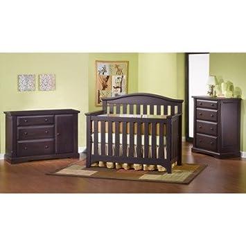 Merveilleux Childcraft Hawthorne 4 Piece Nursery Furniture Collection   Espresso Set  Includes: Crib, Dresser