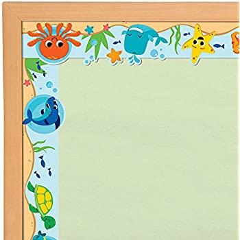 Under The Sea Bulletin Board Borders 12 Piece Set Ocean Sea Classroom Decorations