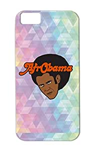 Obama Hair Funny Political Provocative Joke Funny Humor Satire Barack Afro TPU Black Protective Hard Case For Iphone 5c Afro Obama
