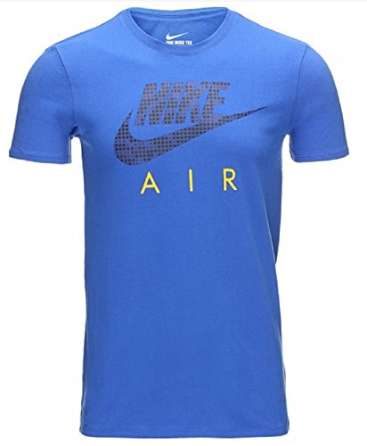 Homme Tee Nike Blue Azul Hybrid air Royal Tee Royal Shirt Deep Game Royal Game dgwqwXC
