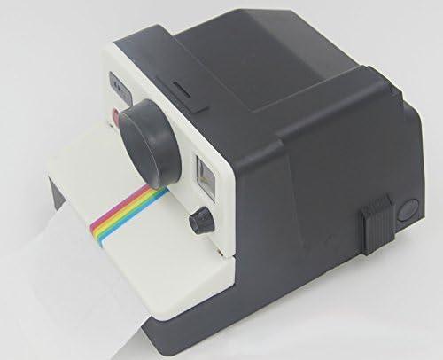 ELINKUME Polaroid Appareil photo style porte rouleau papier bo/îte /à mouchoirs bo/îte de lingettes toilette salle de bain
