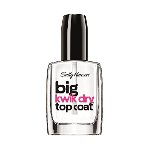 Sally Hansen Big Kwik Dry Top Nail Coat Treatment, 0.4 Fluid Ounce