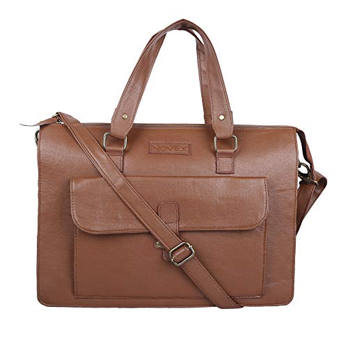 Novex 12 Ltrs Tan Laptop Messenger Bag  NXLB190TAN