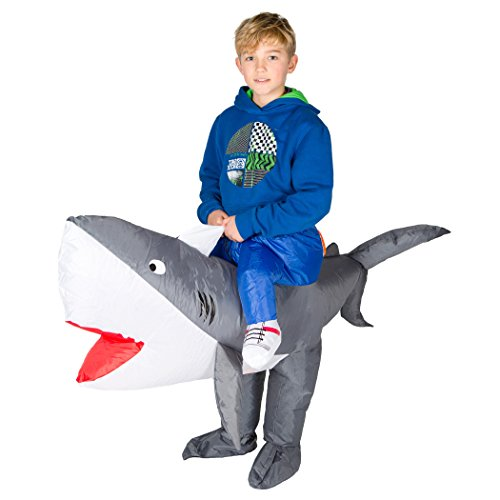 Bodysocks Kids Inflatable Shark Fancy Dress Costume