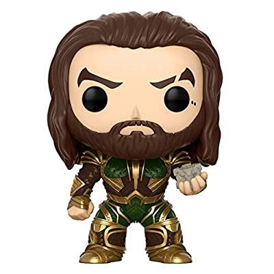 Funko POP! Aquaman with Motherbox #199 (2020 Summer Convention Exclusive): Aquaman: Toys & Games