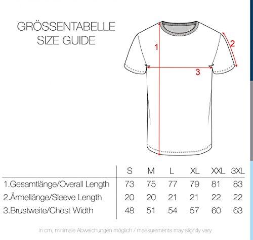 5944 Camiseta De solid Hombre Cuello Con Ermine Corta Básica Redondo Estampado Para Manga Gráfico Oq1UwR1nd
