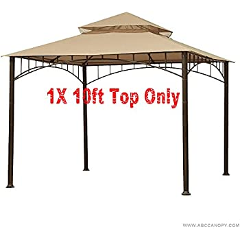 ABCCANOPY Replacement Canopy roof for Target Madaga Gazebo (beige)  sc 1 st  Amazon.com & Amazon.com : Garden Winds Madaga Gazebo Replacement Canopy ...