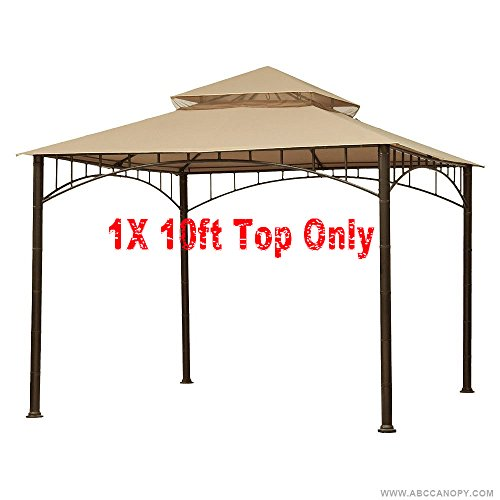 ABCCANOPY Gazebo Replacement Canopy roof for Target Madaga Gazebo (beige) - Canopy Top