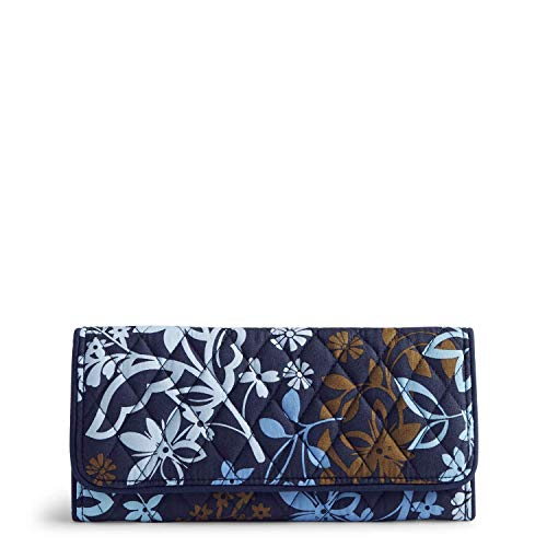 Vera Bradley Women's Trifold Wallet, Java Floral, One Size