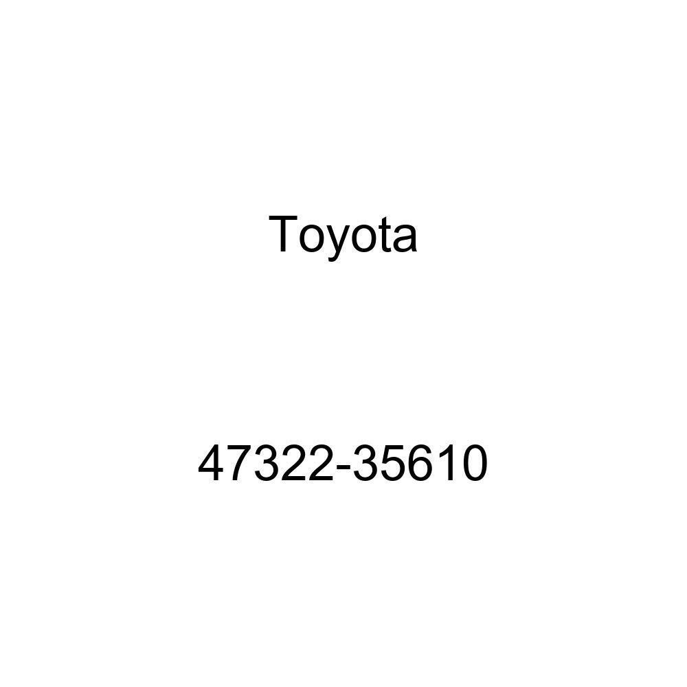 Genuine Toyota 47322-35610 Brake Tube