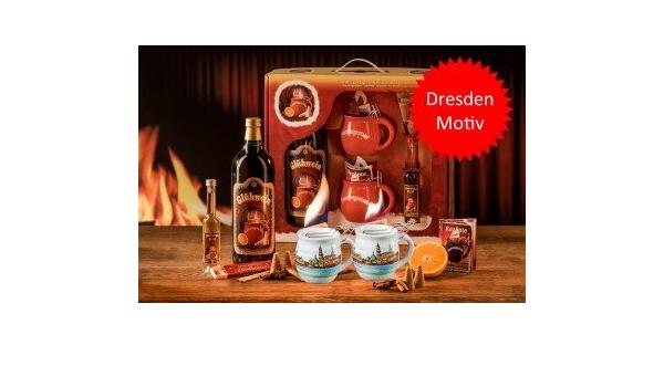 Fuego Alicate Taza Set de regalo, ponche, vino caliente ...