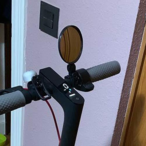 Noblik Au?en Scooter Invertiert Mirror Elektro Roller R/ück Spiegel Scooter Zubeh?r Ersatz Zubeh?r f/ür M365