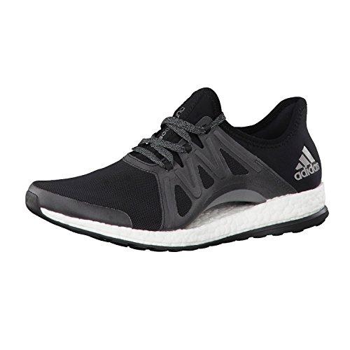 Adidas Pureboost Xpose, Scarpe da Corsa Donna, Nero (Negbas/Ftwbla/Griosc), 42 EU