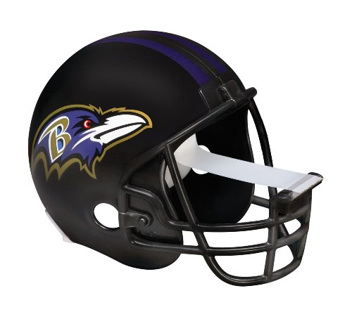 [Scotch Magic Tape Dispenser, Baltimore Ravens Football Helmet with 1 Roll of 3/4 x 350 Inches Tape] (Magic Ball 1)
