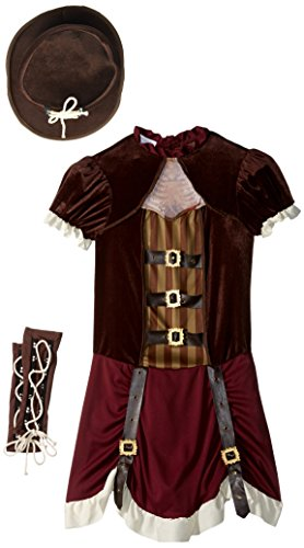Anime Costumes For Female (California Costumes Steampunk Girl Tween Costume, X-Large)