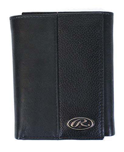 Rawlings Leather Bases Loaded Trifold Wallet