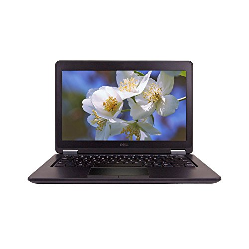Dell E7250 12.5inch Laptop, Intel Core i7-5600U 2.6GHz, 8GB Ram, 256GB SSD, Windows 10 Pro 64bit (Renewed)